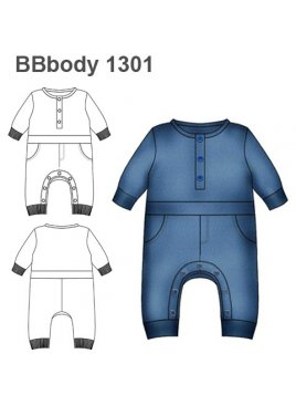 BODY ENTERITO BEBE 1301