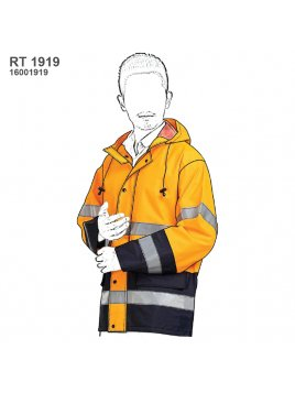 CHAQUETA IMPERMEABLE TRABAJO RT 1919