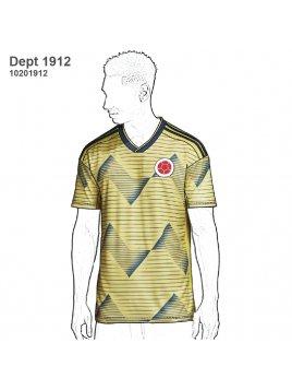 DEPORTE CAMISETA FUTBOL 1912