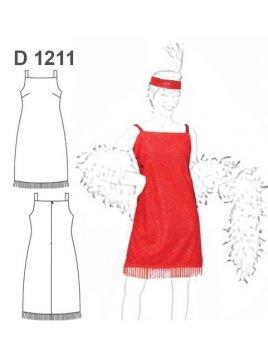 DISFRAZ CHARLESTON 1211