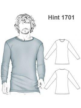 INTERIOR CAMISETA HOMBRE 1701