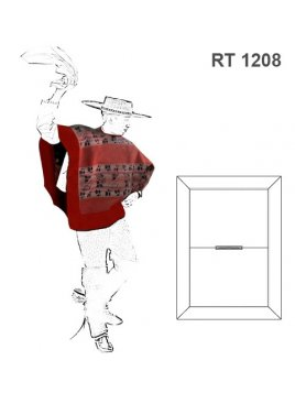 MANTA HUASO RT 1208