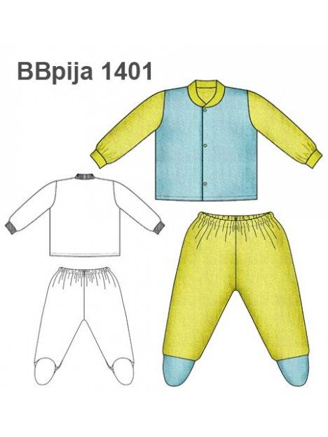 PIJAMA 2 PIEZAS BEBE 1401