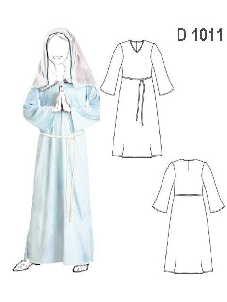 TUNICA VIRGEN MARIA D 1011