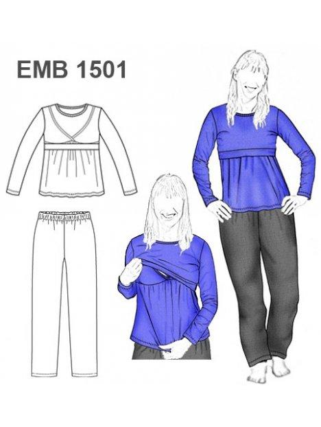 PIJAMA LACTANCIA EMB 1501
