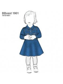 VESTIDO EVASE BEBE 1901