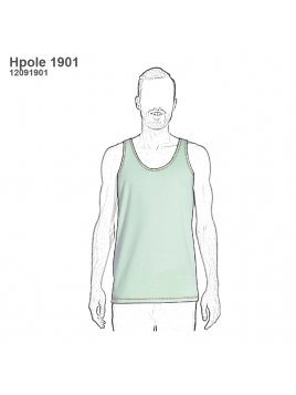 POLERA BASICA HOMBRE 1901