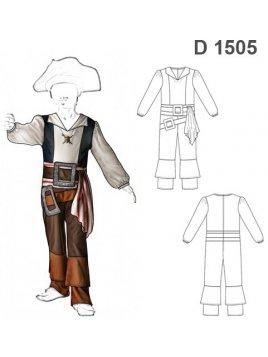 DISFRAZ DE PIRATA D 1505