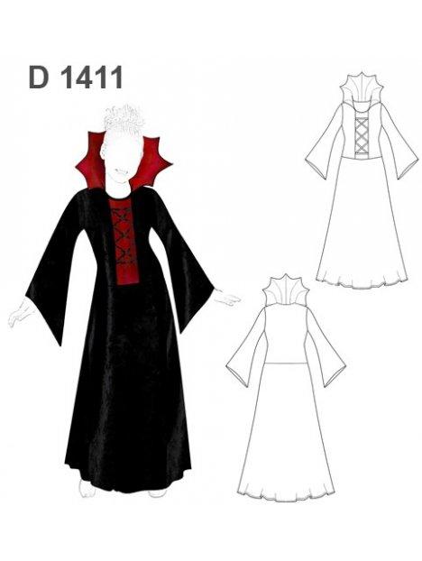DISFRAZ DE VAMPIRA 1411