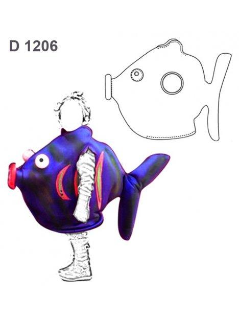DISFRAZ DE PEZ INFANTIL 1206