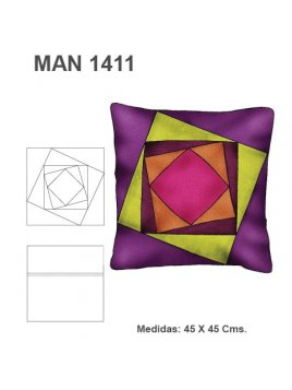 COJIN PATCHWORK CRAZY MAN 1411