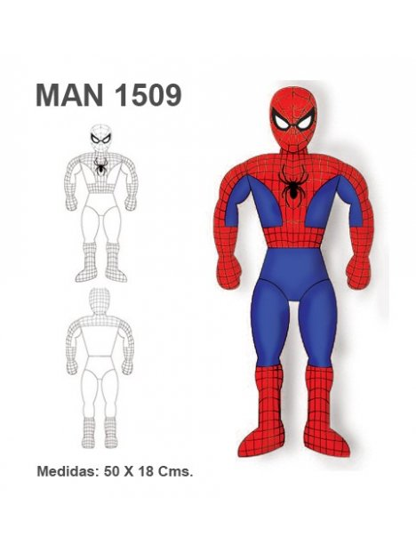 MUÑECO SUPER HEROE MAN 1509