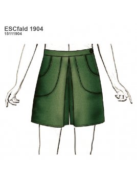 FALDA SHORT ESCOLAR 1904