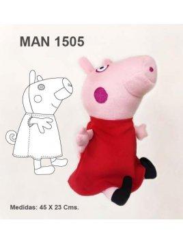 MUÑECA CERDITA MAN 1505