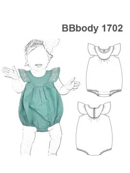 BODY ENTERITO MONO BUBBLE ROMPER BEBE