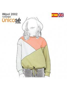 POLERON CORTES NIÑA 2002