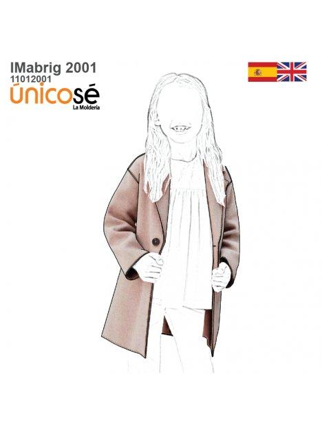 ABRIGO BASICO NIÑA 2001