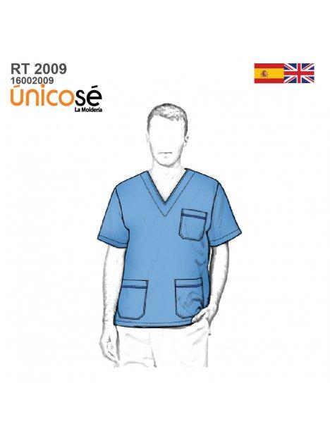CAMISA MEDICO UNISEX RT 2009