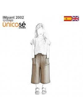 PANTALON BASICO NIÑA 2002