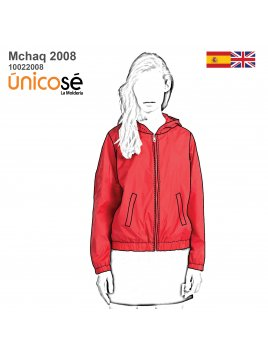CHAQUETA BOMBER MUJER 2008