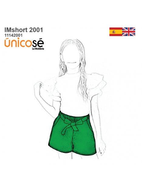 SHORT BASICO NIÑA 2001