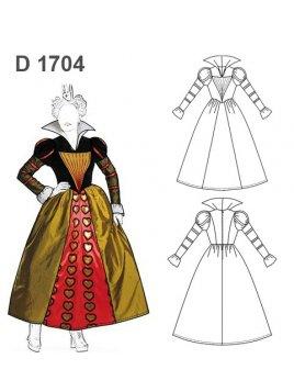 DISFRAZ REINA 1704