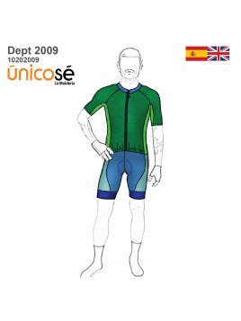 DEPORTE SKINSUIT CICLISMO UNISEX 2009