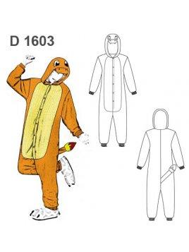 DISFRAZ IGUANA 1603