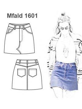 FALDA JEANS MUJER 1601