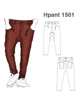 PANTALON HAREM HOMBRE 1501