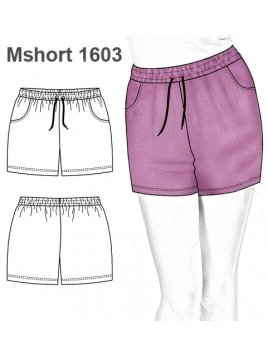 SHORT BASICO MUJER 1603