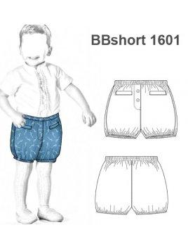 SHORT BOMBACHO BEBE 1601