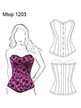 TOP CORSET MUJER 1203