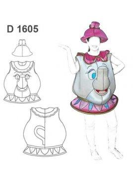 DISFRAZ TETERA 1605