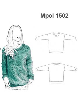 POLERON SWETER OVER SIZE MUJER