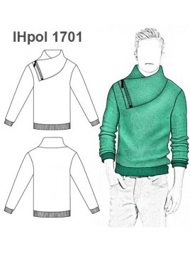 POLERON TEJIDO NIÑO 1701