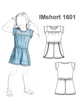 SHORT ENTERITO NIÑA 1601