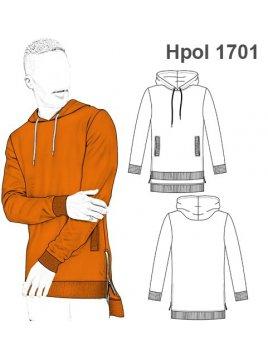 POLERON LARGO HOMBRE 1701
