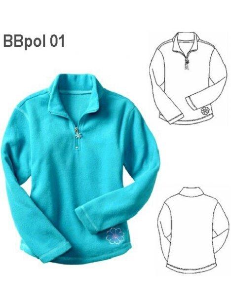 POLERON BASICO BEBE 0901