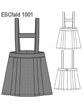 FALDA TABLAS ESCOLAR 1001