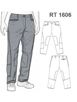 PANTALON TRABAJO RT 1606