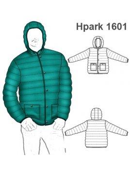 PARKA CORTA HOMBRE 1601