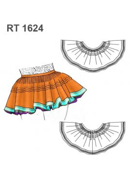 FALDA CAPORAL RT 1624