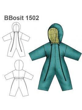 OSITO ABRIGO BEBE 1502