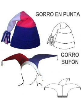 GORRO BUFÓN Y GORRO EN PUNTA 1002