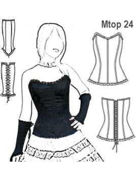 TOP CORSET MUJER 0924