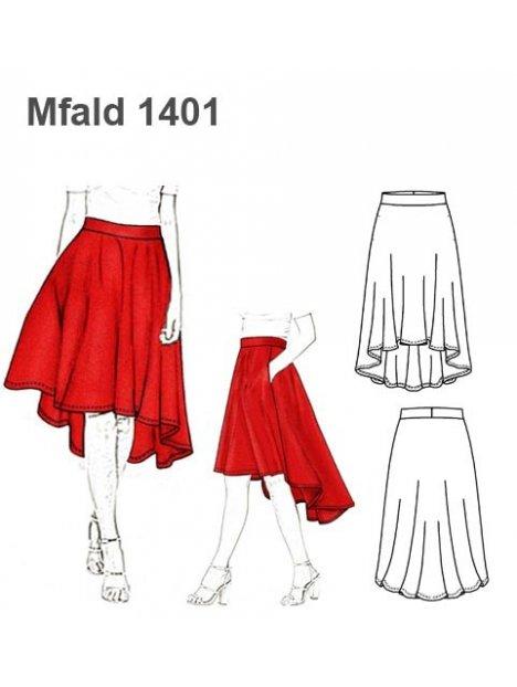 FALDA MULLET MUJER 1401