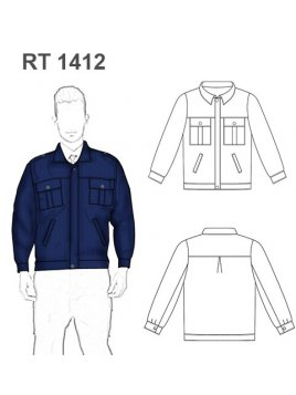 CHAQUETA GUARDIA RT 1412