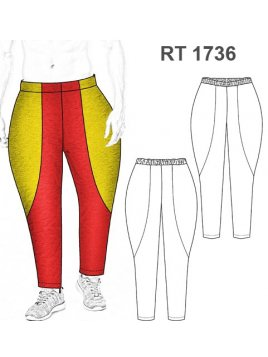 PANTALON CAPORAL RT 1736
