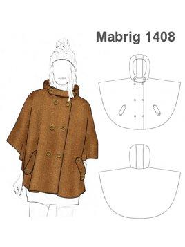 ABRIGO CAPA MUJER 1408